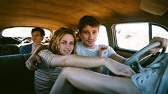 Une sc�ne du film <i>On the road<i> (<i>Sur la route<i>)