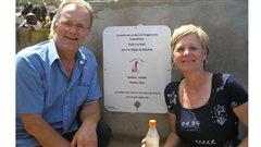 Jean-Pierre Monette et Nicole Meunier au Mali
