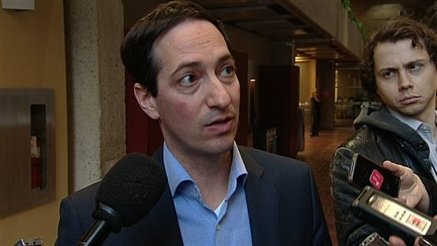 Le président du Conseil du trésor du Québec, Stéphane Bédard