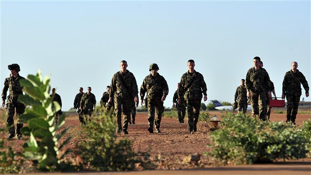 Soldats français Mali