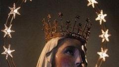 Une image tirée de la couverture du roman <em>Notre-Dame d'Alice Bhatti</em>, de Mohammed Hanif, Éditions des deux Terres