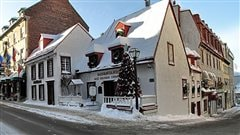 Le restaurant Aux anciens Canadiens