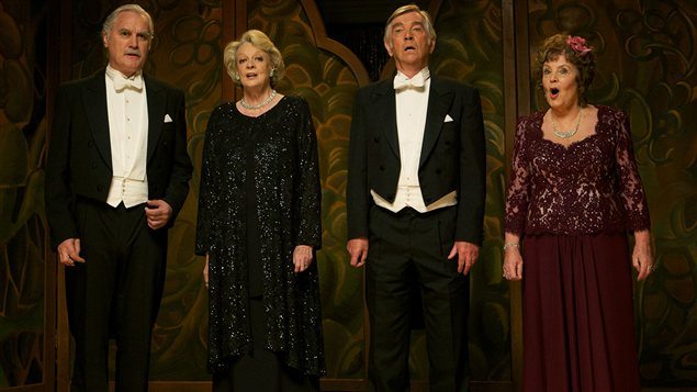 Tom Courtenay, Maggie Smith, Billy Connolly et Pauline Collins ©Viva films