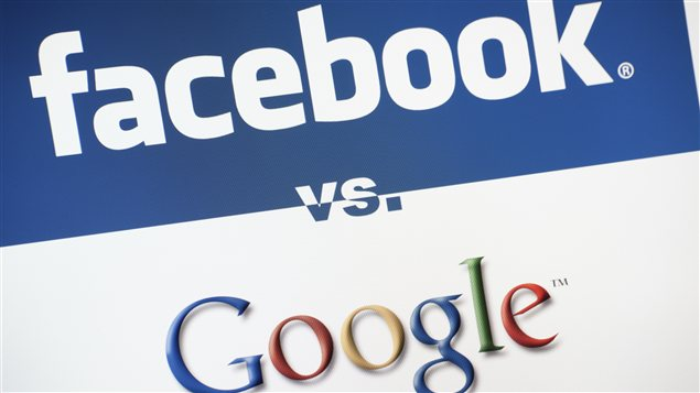 Facebook contre Google