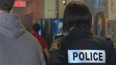 Les policiers ont fouillé l'école secondaire Le Sommet