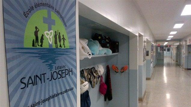L'École Saint-Joseph de Lefaivre sera fermée en juin.