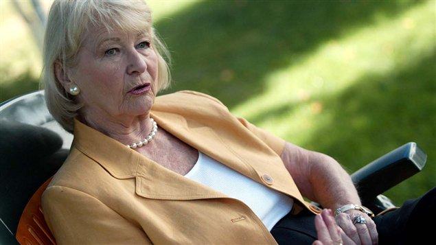 L'ex-conseillère municipale à la Ville de Sherbrooke, Françoise Dunn