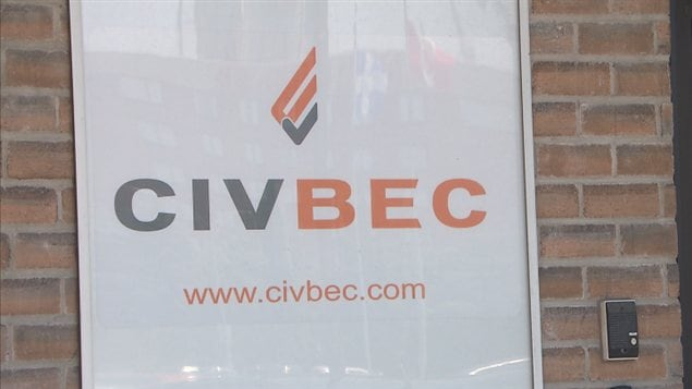 Le sige de l&#39;entreprise Civ-Bec