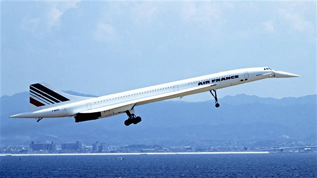 Un Concorde d�Air France au d�collage / � Wikip�dia