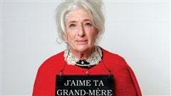 Un de partie de la pochette de l'album <i>J'aime ta grand-mère</i> du groupe Les Trois Accords