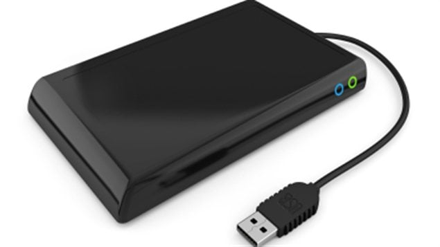 Un disque dur portatif
