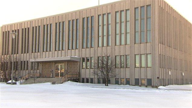La prison de Sept-Îles se trouve au sous-sol du palais de justice