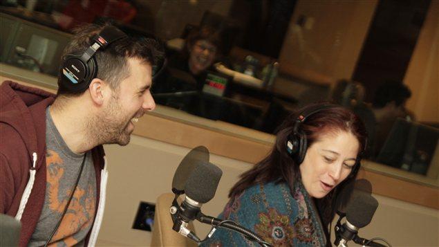 Bruno Marcil et Marie-Jos�e Bastien | � Radio-Canada / Philippe Couture