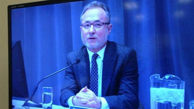 Le Dr Trevor Theman a témoigné vendredi à la commission Vertes.