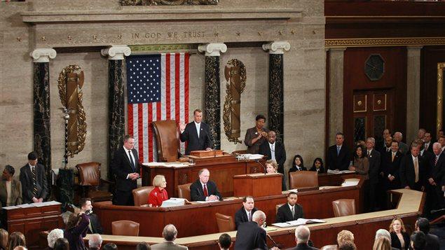 La Chambre des représentants à Washington