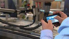 Système de traite robotisée, compagnie suédoise DeLaval