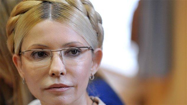 Ioulia Timochenko lors de son procès