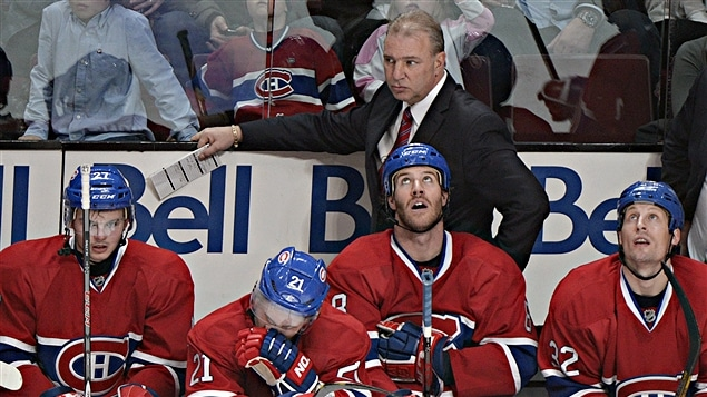 Michel Therrien,  son premier match  son retour derrire le banc du Canadien