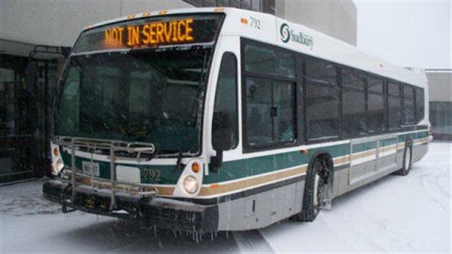Autobus municipal à Sudbury