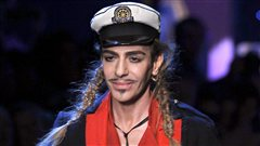 John Galliano Franois Guillot / AFP