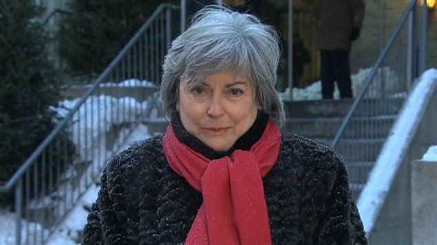 La directrice générale de la Maison du Père, France Desjardins