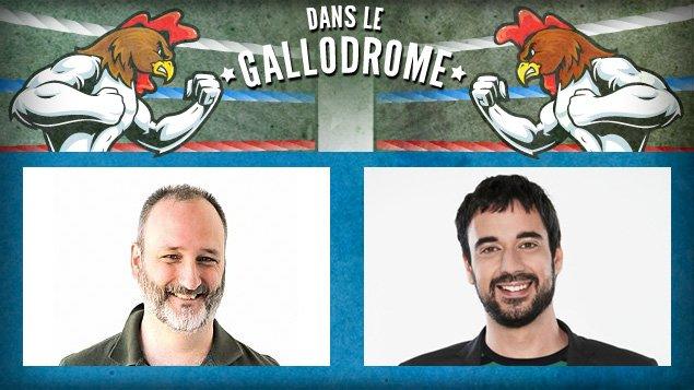 Martin Bilodeau et Olivier Robillard-Laveaux dans le Gallodrome