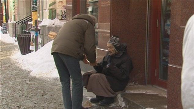 Le froid cause des soucis aux sans-abri