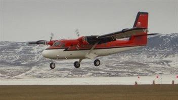 Un avion Twin Otter similaire à celui qui a disparu près de la base de la baie Terra Nova.