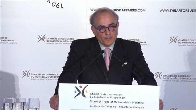 Le PDG d&#39;Air Canada, Calin Rovinescu