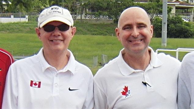 Alex Garnider et Martin Goulet