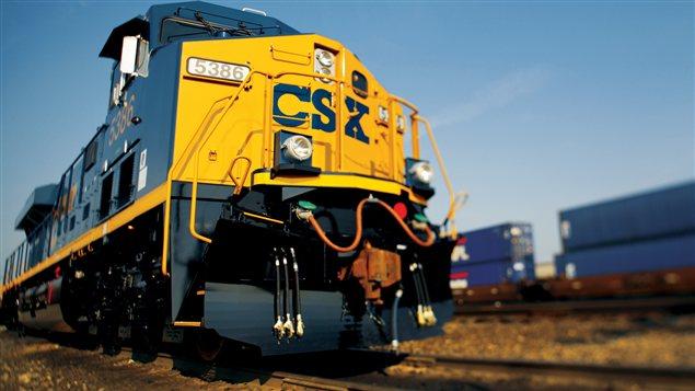 Un train de CSX
