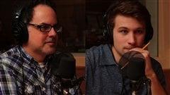 St�phane Dompierre et Gabriel Nadeau-Dubois  �Radio-Canada/Marie-Sandrine Auger