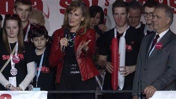 Sandra Pupatello a fait les éloge du premier ministre démissionnaire.