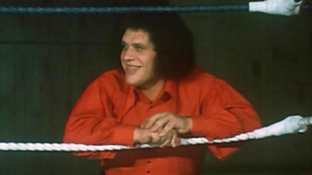 René Roussimoff (le géant Ferré) à l'émission <em>Appelez-moi Lise</em> en 1972 | ©Radio-Canada