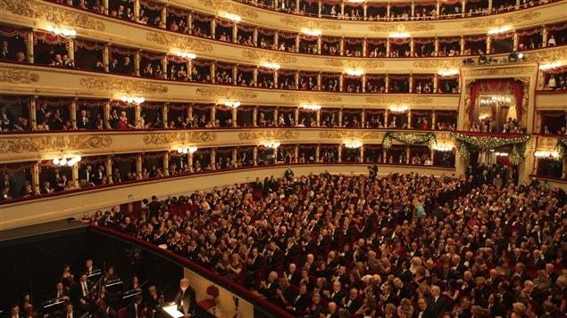 Le théâtre d'opéra la Scala de Milan