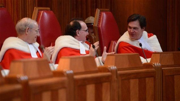 Des juges de la Cour suprême du Canada