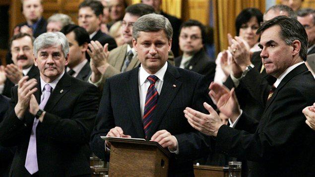 Stephen Harper à Chambre des communes en 2006