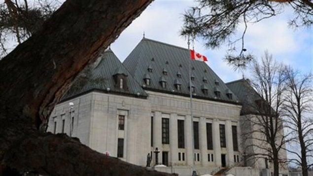 Cour suprême du Canada à Ottawa