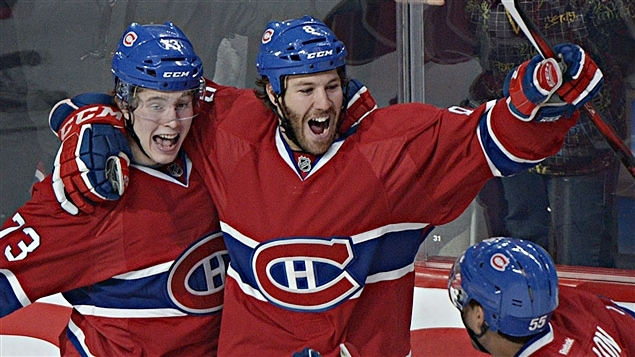 Brendan Gallagher et Brandon Prust