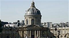 L�Institut de France o� si�ge l�Acad�mie fran�aise, � Paris. / � PRA, Wikip�dia