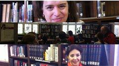 De haut en bas : Gabrielle Bouchard, biblioth�que Atwater et Roksanna Bahramitash �Radio-Canada/Sylvain Houde