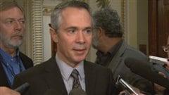 Le président-directeur général d'Hydro-Québec Thierry Vandal