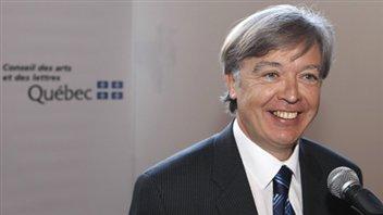 Le président-directeur général du Conseil des arts et lettres du Québec, Yvan Gauthier
