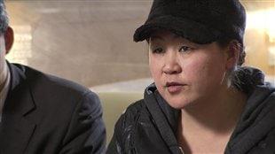 Wang Yi a été détenue dans un camp de travail pendant un an.