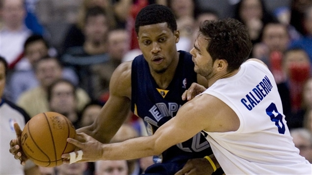 Rudy Gay et Jose Calderon