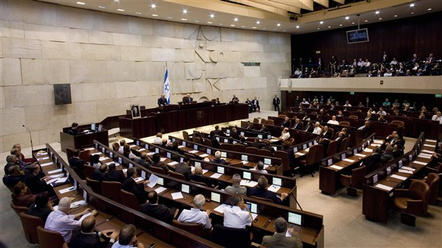 جلسة للكنيست الإسرائيلي (أرشيف)