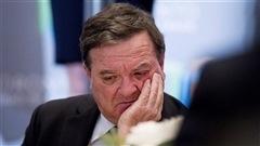 Jim Flaherty souffre d'une rare maladie de peau