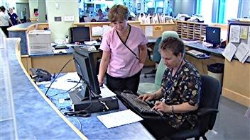 Le personnel à l'Hôpital d'Ottawa.