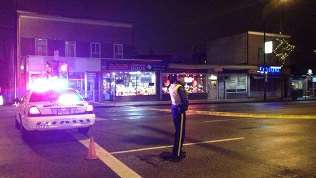 Un homme a été tué par des policiers à Burnaby.