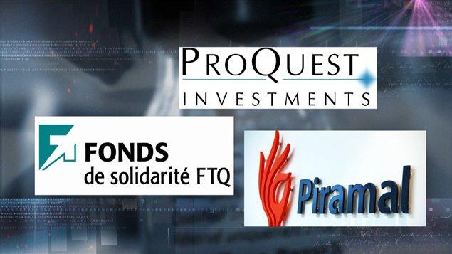Le Fonds de solidarité de la FTQ, ProQuest et Piramal ont investi dans Biosyntech.